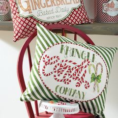 Candy Company Holiday Accent Pillow Set of 2