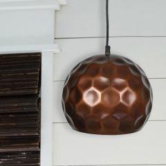 Rustic Copper Finish Pendant Light