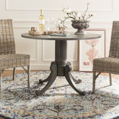 Classic Drop Leaf Pedestal Dining Table