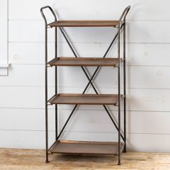 Industrial Flair Tiered Shelf