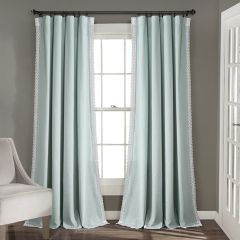 Pretty in Pastel Curtain Panel Set of 2