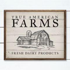True American Farms Wall Art