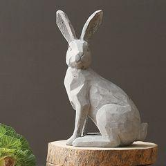 Cement Rabbit Statue
