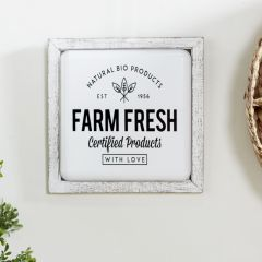 Farm Fresh Wall Sign