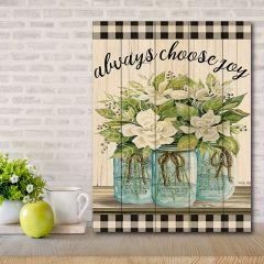 Choose Joy Farmhouse Pallet Wall Art