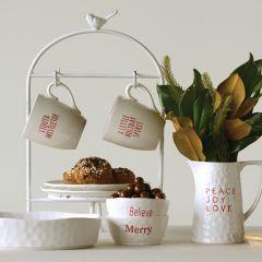 Christmas Sayings Mug Collection Set of 4