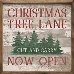Christmas Tree Lane Wall Art