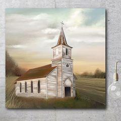 Church Countryside Wall Art