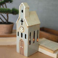 Church Shaped Ceramic Night Light