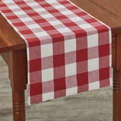 Classic Buffalo Check Farmhouse Table Runner