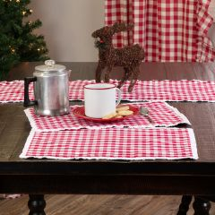 Classic Country Check Placemats Set of 6