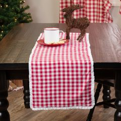 Classic Country Check Table Runner