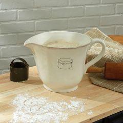 Classic Cream Farmhouse Batter Bowl