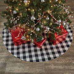 Classic Farmhouse Check Tree Skirt