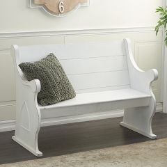 Classic Pew Style Bench