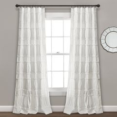 Classic Ruffle Panel Curtain Set of 2