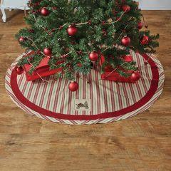Classic Striped Christmas Tree Skirt