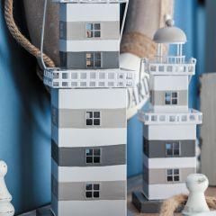 Coastal Cottage Lighthouse Lantern