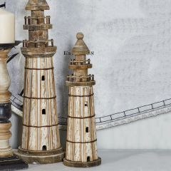 Coastal Living Tabletop Lighthouse Set of 2