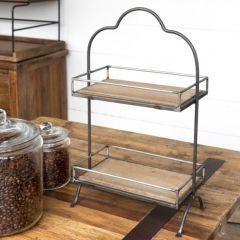 Coffee Counter Decorative Display Rack