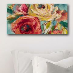 Colorful Floral Canvas Wall Art