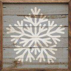 Cottage Snowflake Wall Art