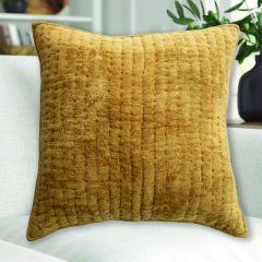 Cotton Chenille Square Pillow