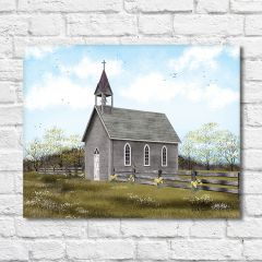 Country Church Wall Art