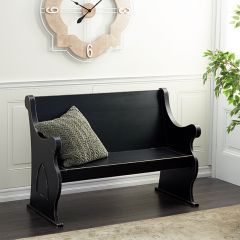 Country Cottage Pew Style Bench