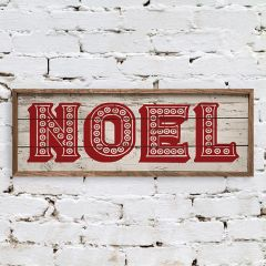 Country Noel Wall Sign