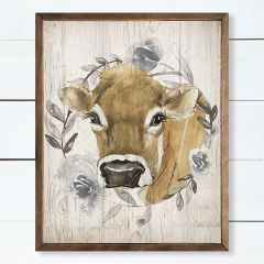 Cow Wreath Wall Art