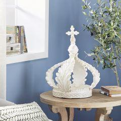Crown Sculpture Candle Lantern