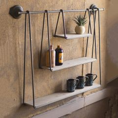 Modern Triple Hanging Shelf