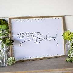 Be Kind Cottage Wall Decor