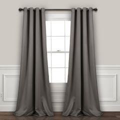 Dark Elegance Curtain Panel Set of 2