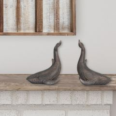 Whale Shaped Bookends