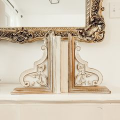 Country Chic Corbel Bookends