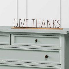 Gratitude Mantel Signs Set of 2