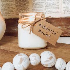 Magnolia Peony Jar Candle