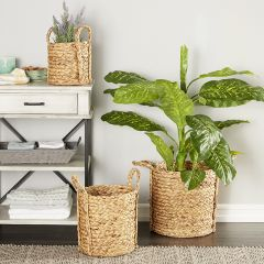 Seagrass Basket Planter Collection Set of 3