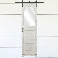 Shutter Door Panel Wall Mirror