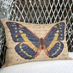 Butterfly Lumbar Pillow