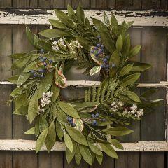 Cinnamon And Delonix Floral Wreath