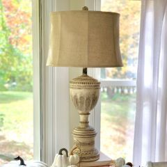 Manor Home Table Lamp Set of 2
