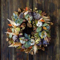 Harvest Hues Fall Wreath