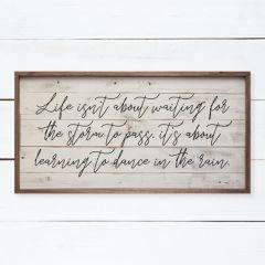 Dance In The Rain Framed Wall Decor