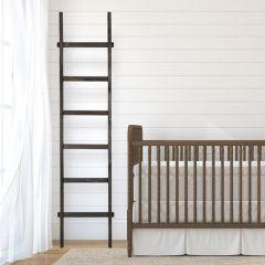 Dark Decorative Wood Ladder
