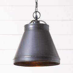 Dark Rustic Dome Pendant Light