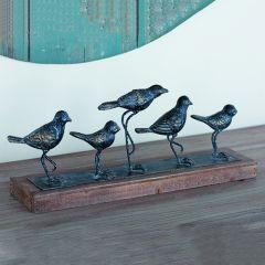 Dancing Birds Tabletop Centerpiece