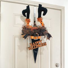 Witchy Happy Halloween Decor